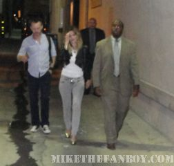 Drew barrymore looking sexy leaving kimmel