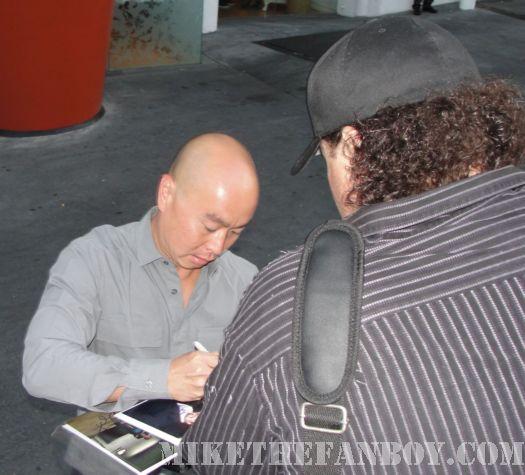 C.S. Lee dexter signing autograph promo