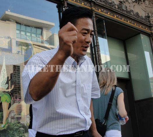 You again Asian Preacher hollywood Blvd.