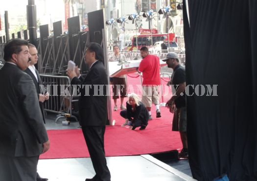 Red Carpet going up for the You Again premiere
