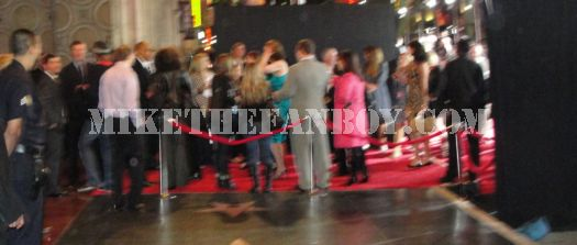 Sigourney Weaver at the You Again premiere leaving