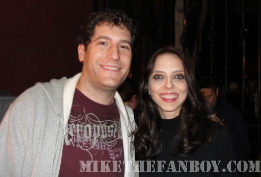 Buffy The Vampire Slayer's Juliet Landau Drusilla signing autographs