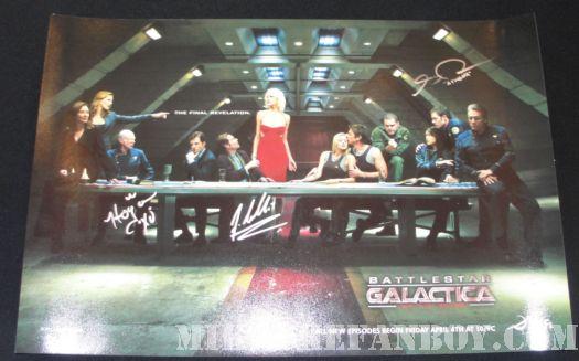 Battlestar Galactica last supper promo poster