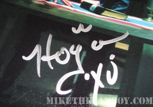 Michael Hogan Battlestar Galactica autograph signed