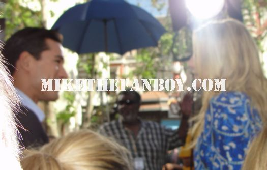 Jennifer Finnigan Getting Interviewed at the Grove