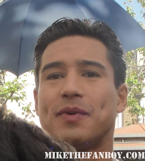 Mario lopez at the Grove A.C. Slater