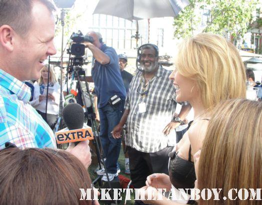 Kylie Minogue doing press for Aphrodite