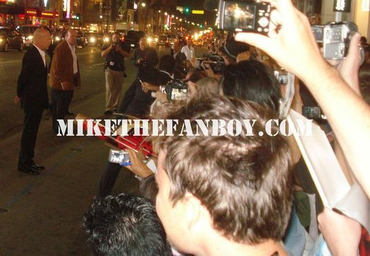 Bruce Willis Screws over fans at the Red Premiere