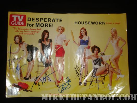 Teri Hatcher Desperate Housewives TV Guide poster