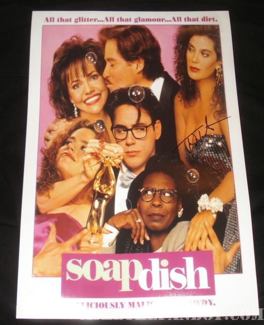 Soapdish mini movie poster sally field teri hatcher elizabeth Shue