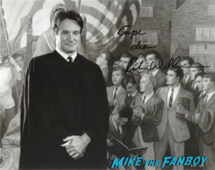 Robin Williams signed autograph photo rare promo dead poet's society hot rare mork and mindy promo good morning vietnam