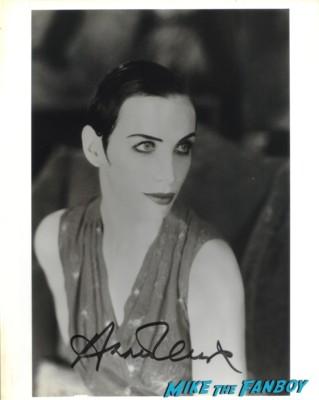 Annie Lennox signed autograph photo headshot little bird diva eurythmics singer hot sexy rare little bird missionary man