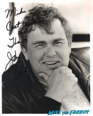 John Candy signed autograph headshot photo rare promo spaceballs the great outdoors