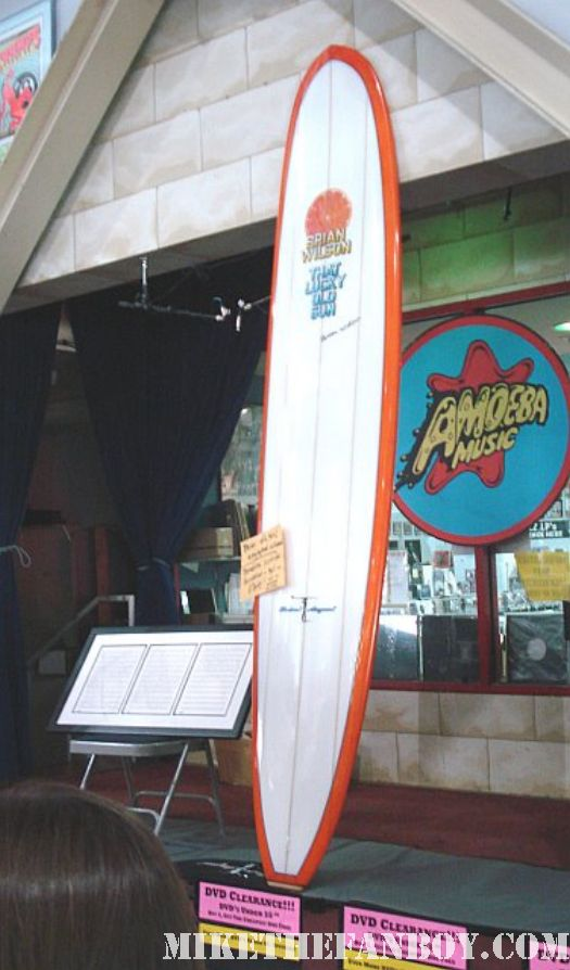 brian wilson lucky old sun surfboard rare