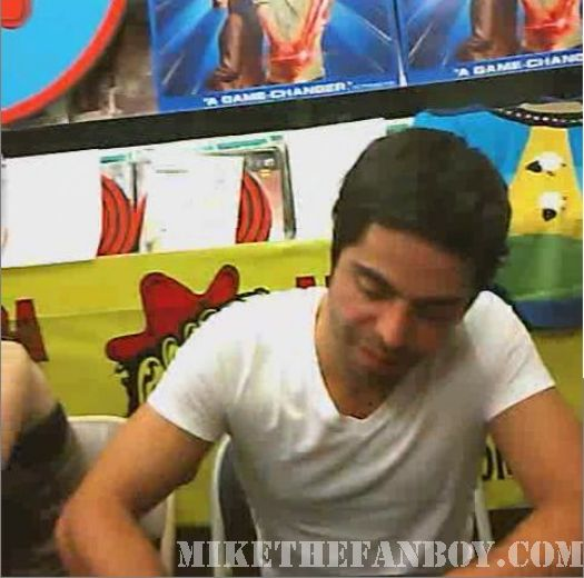 Scott Pilgrim Vs. The World DVD signing Satya Bhabha amoeba music hollywood