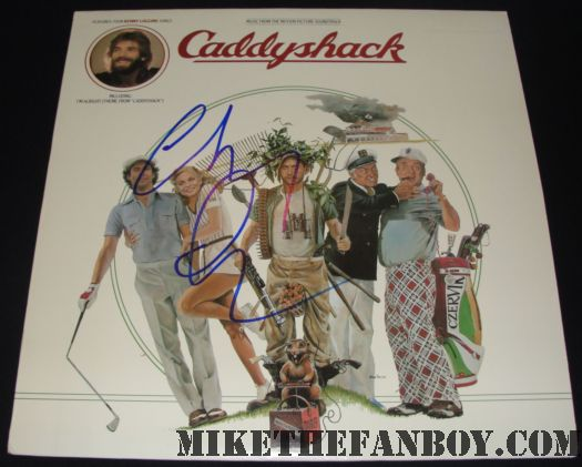 chevy chase signed caddyshack soundtrack lp