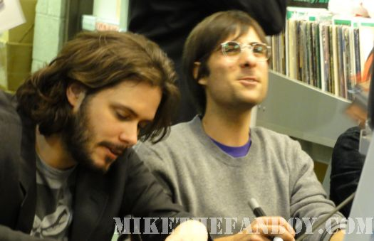 Scott Pilgrim Vs. The World DVD signing Edgar Wright Jason Schwartzman Amoeba