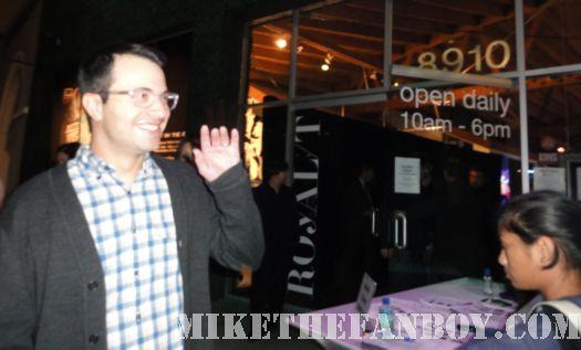 Eddy Kitsis Tron Legacy Writer culver city pop up shop jeff bridges olivia wilde