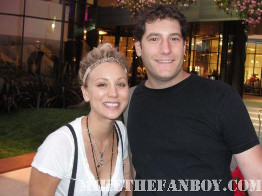 Kaley Cuoco from Big Bang Theory Amanda Foundation Dog Rescue