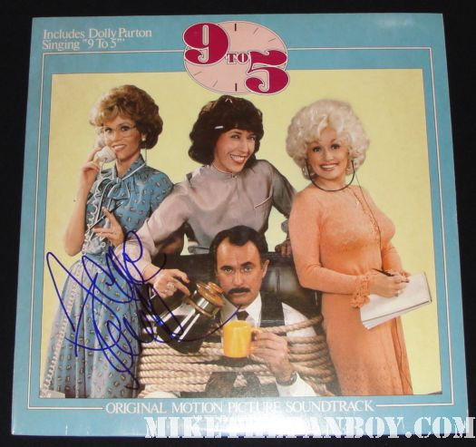 9 to 5 signed soundtrack jane fonda