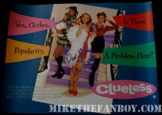 Britney Murphy Alicia Silverstone Cher Clueless UK Quad Poster