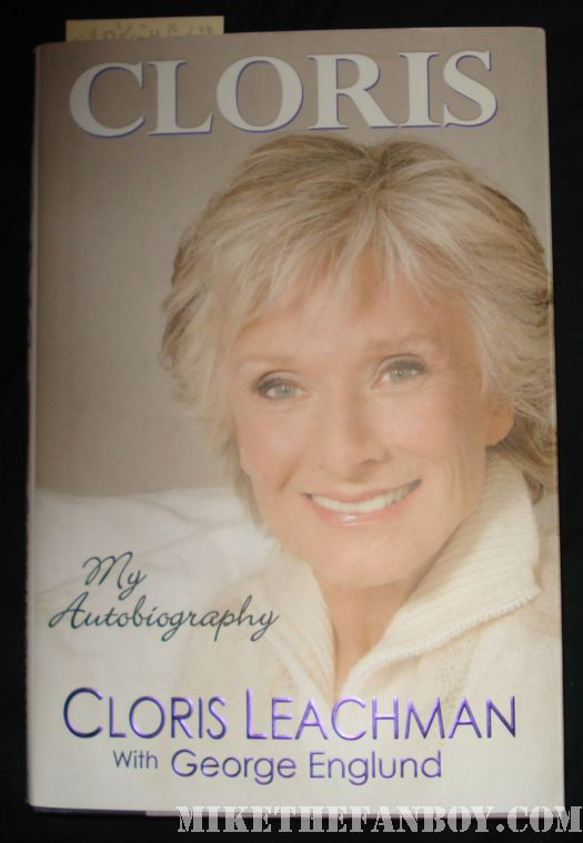 cloris leachman facts of life book signing rare