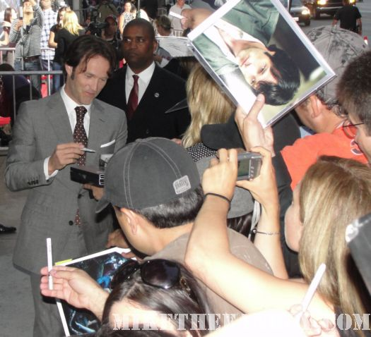 Stephen Moyer True Blood season 3 Autographs season 3