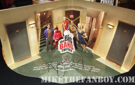 Kaley Cuoco Big Bang Theory signed Emmy pop up