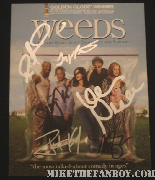 Mary Louise Parker Weeds signed autograph kevin nealon
