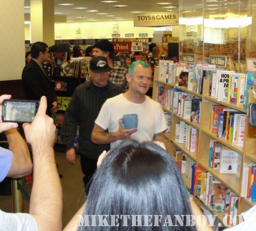 Red Hot Chili Peppers flea chad smith barnes and noble