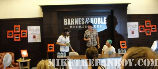 chad smith, flea, anthony kiedis barnes and noble grove