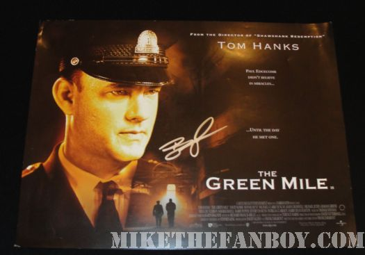 Barry Pepper kevin spacey AFI casino Jack Green Mile UK quad poster
