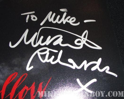 Made in Dagenham sleepy hollow mini poster signed AFI Miranda Richardson