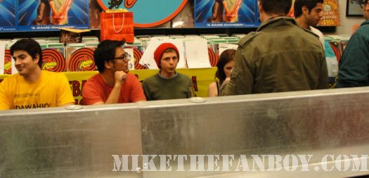 Scott Pilgrim Vs. The World signing Michael Cera Anna Kendrick Edgar Wright Amoeba los Angeles
