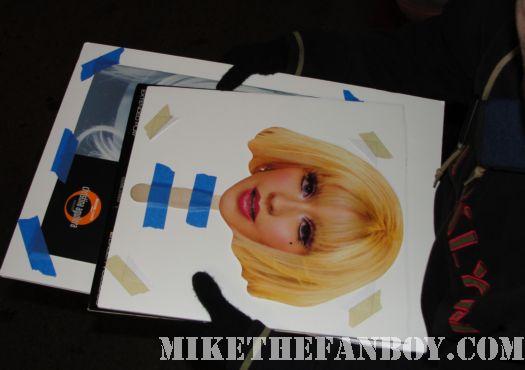 Christina Aguilera Head on a stick promo Burlesque Bionic