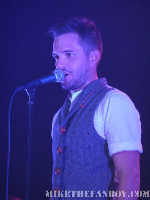 Brandon Flowers in Concert Wiltern Theatre Los Angeles Flamingo Sexy hot