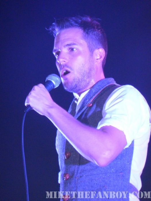 Brandon Flowers in Concert Wiltern Theatre Los Angeles Flamingo