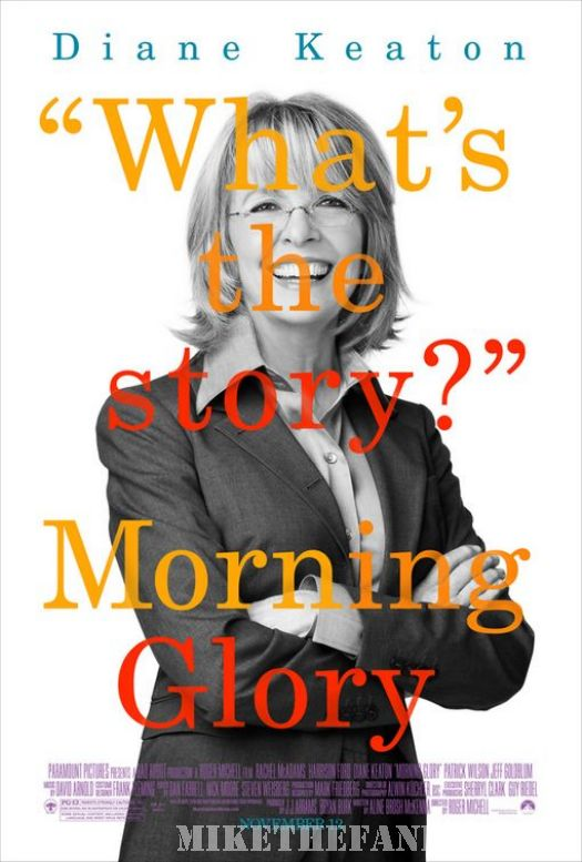 diane keaton morning glory what's the story mini poster