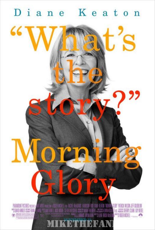 diane keaton morning glory what's the story mini poster