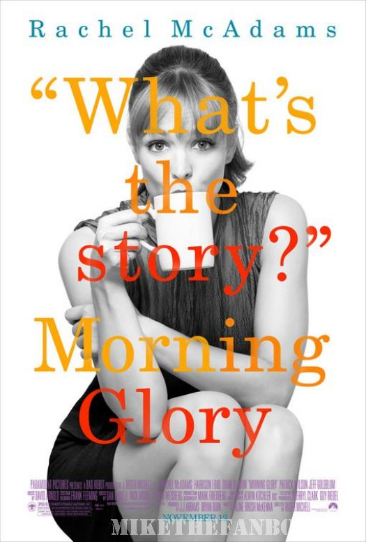rachel McAdams morning glory what's the story mini poster