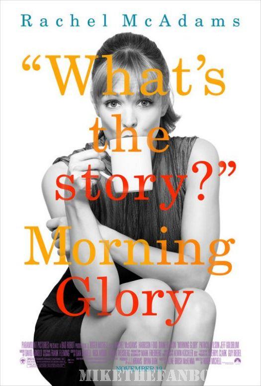 rachel McAdams morning glory what's the story mini poster