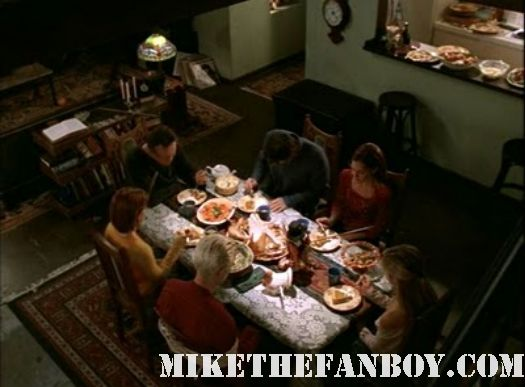 Buffy the Vampire Slayer Pangs Thanksgiving Ritual Sacrifice Willow Angel Season 4