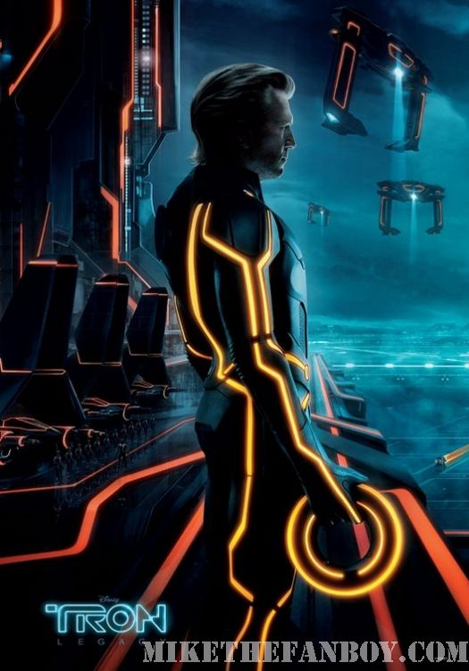 Tron Legacy Jeff Bridges new individual movie poster