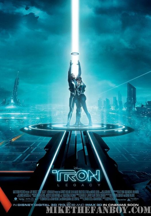 Tron Legacy olivia Wilde movie poster jeff bridges new