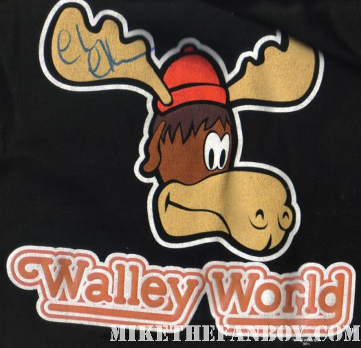 chevy chase walley world shirt moose