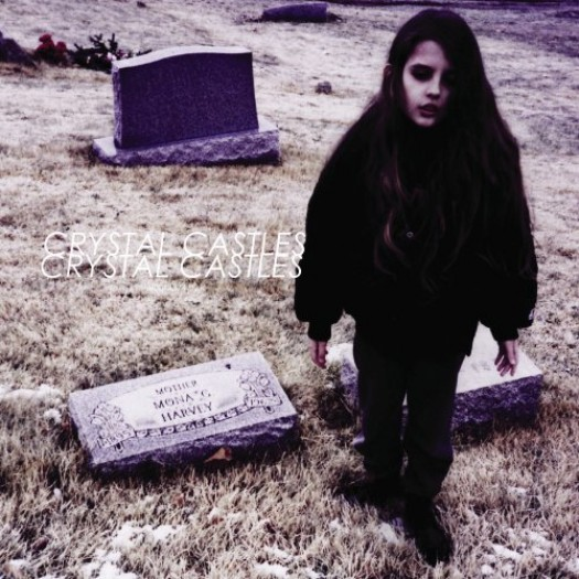 Crystal Castles – Not In Love self titled cd album artwork best 2010 rare