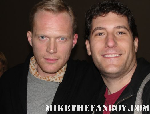 Paul Bettany Mike Michael Sametz signed autograph mike the fanboy rare rucker get a life