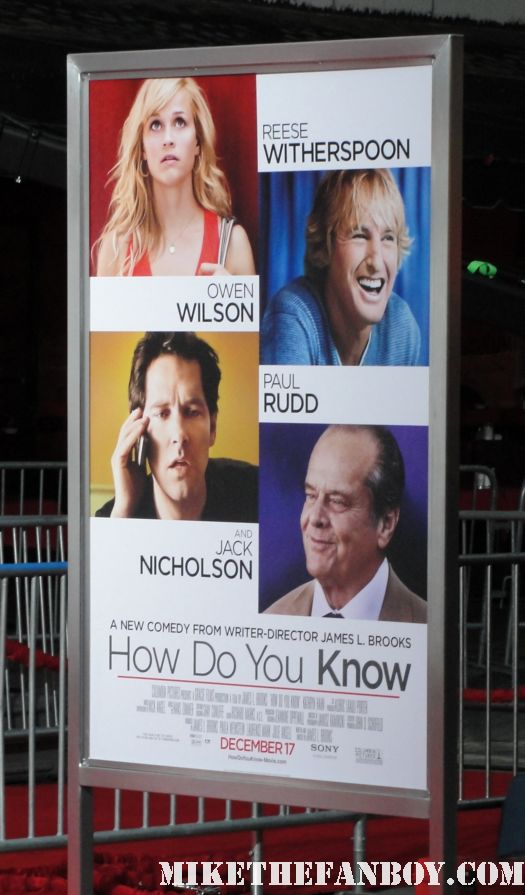 james l brooks how do you know reese witherspoon jack nicholson owen wilson paul rudd