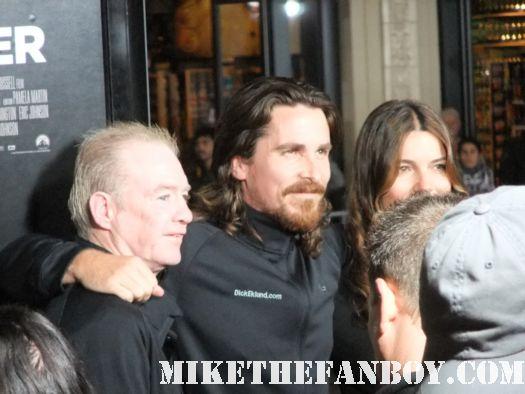 Christian Bale Mark Wahlberg sexy hot shirtless frat boys autograph calvin klein