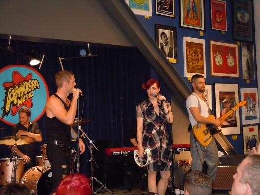 Scissor Sisters – Any Which Way  jake shears amoeba music rare live concert
